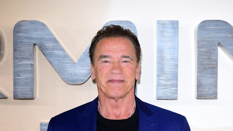 'Iconic duo' Arnold Schwarzenegger and Clint Eastwood go skiing together