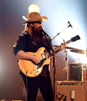 Chris Stapleton performs onstage during the 52nd Academy Of Country Music Awards at T-Mobile Arena on April 2, 2017 in Las Vegas. (Ethan Miller/Getty Images)