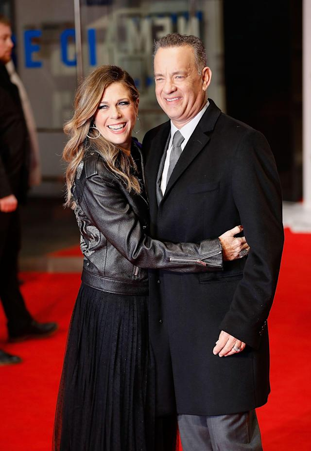 <p>The way Cecil B. deMille award winner Tom Hanks and his wife, Rita Wilson, met is common in Hollywood: The couple first crossed paths on a TV set. But their love and commitment to each other is much more special. Defying the odds, the <em><a href=
