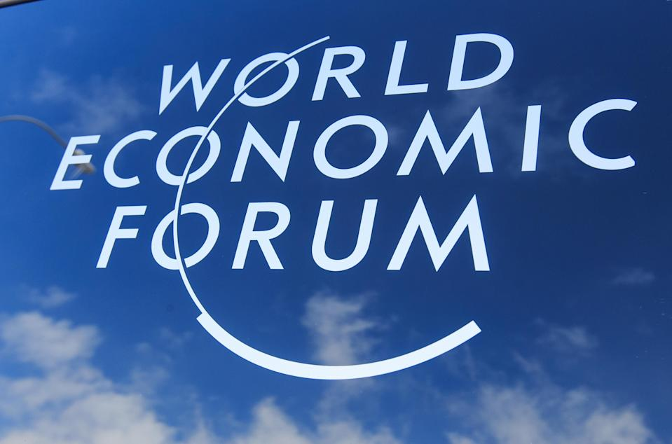 The World Economic Forum (WEF) takes place in Davos every year. Photo: Xinhua/SIPA USA/PA Images.