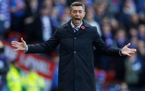 "When Rangers revealed the identity of their managerial successor to Pedro Caixinha, all that was missing was the sticky back plastic and someone to say ""here's one we made earlier..."" A full eight weeks after jettisoning Caixinha and after being rebuffed by Aberdeen's Derek McInnes, the Ibrox directors decided that the man for the job was the one they already had as interim boss and, moreover, who has been acting in that capacity for the second time in a year. Graeme Murty will now be in charge until the end of the season and will be active during the January transfer window. Some, including a section of the Rangers support, will regard the appointment as cheap and expedient. It is certainly remarkable that the board could not identify an irresistible candidate with pedigree willing to take the job. According to Stewart Robertson, Rangers' managing director, however, Murty effectively worked himself into the position, despite losing 3-1 at home to St Johnstone last weekend. ""There was a wide range of candidates we were looking at – and still were, post-Derek [McInnes] – but we weren't overlooking the job that Graeme had done and is doing in the last couple of months and also in his previous stint,"" Robertson said. ""As time went on we were confident that he had the capability to take us forward. It wasn't about one result. You're looking at the body of work and the body of evidence over a period of time. ""That made us confident that, while Graeme is inexperienced in management, a lot of the characteristics we were looking for were sitting right in front of us. He (Murty) is taking it that he gets one kick of the ball and he wants to give it a right good welly. Rangers are currently third in the Scottish Premiership Credit: pa ""He has got a once in a lifetime opportunity to be the manager of Rangers and it says a lot about his character how he is approaching it, with his enthusiasm to take things on and get stuck in. He has got a different level of authority with the players now. ""He is now the manager, not the guy who is only holding the fort until the manager comes in and it will be interesting to see if that helps. It has to help him, it has to be a positive. He doesn't see it as a burden. If he thought he was going to see it as a burden, we wouldn't have appointed him."" Murty was invited to extend his tenure at a meeting in Robertson's house at 8.30pm on Thursday and did not require time to muse upon his options. ""There was no way I could turn that down,"" he said. Had he supposed, after last Saturday's defeat by St Johnstone, that he had blown his chance? ""As low as I got – because I was annoyed at the way we played – I didn't think that would have any bearing on it because I didn't think I was under consideration,"" said the former Scotland defender, who played for York, Reading, Charlton and Southampton. Pedro Caixinha is a forgotten figure at Ibrox Credit: Reuters ""Before, I was just preparing the team for someone else to come in, judge and take forward – and I was content with that. Now that it's my team, there are things I would like to change, things I'd like to implement around the training ground and around our match-day protocols that I think we can be sharper on. ""It wasn't my place because I was just trying to keep them ready for someone else coming in and now I've got an opportunity to the end of the season to try and do things as I would like to do them."" It was a 1-1 home draw with Kilmarnock that finished Caixinha and, by grace of the fixture list, Murty has the chance to open his longer-term account against the same opponents at Rugby Park. Should Rangers prevail over Steve Clarke's improving side in the lunchtime kick-off in the Scottish Premiership, they would be bound to gain from whatever occurs later at Parkhead, where Celtic play second-placed Aberdeen. Murty's extended appointment was not the only news emanating from Rangers, whose chairman, Dave King, was judged in the Court of Session to have breached the 2006 Companies Act when he acted in concert with businessmen George Letham, George Taylor and Douglas Park to acquire more than 40 per cent of voting rights in the club in 2014. King must make an £11 million offer to buy stock from other investors at 20p a share, although since they are valued currently at 32p, he is unlikely to find takers. ""In terms of the day-to-day running of the club and the PLC and the share issue we are looking at in the future, it has no impact whatsoever,"" said Robertson."