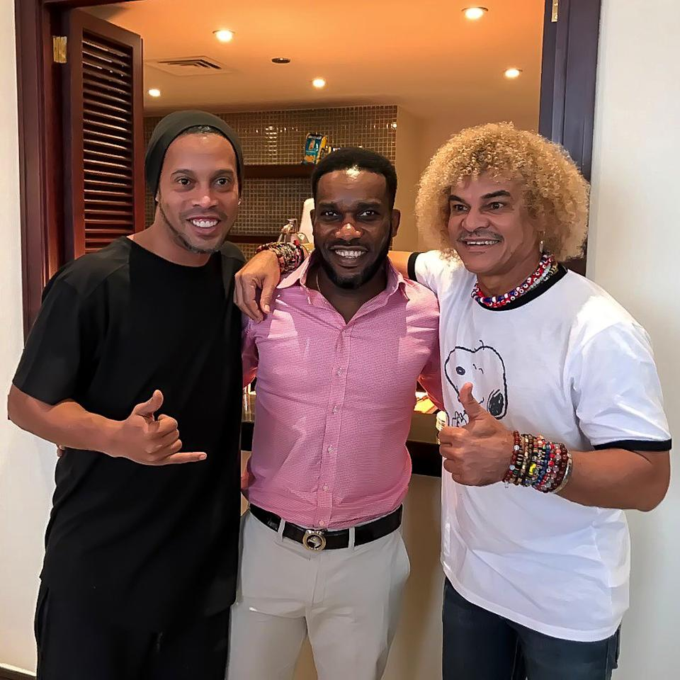 An age-long rivalry between the Super Eagles and Selecao will be reawakened during the Legends World Cup billed for London