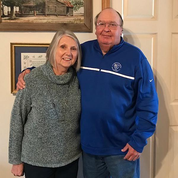 Sharon and Sonny Smart will be cheering on their son Kirby in Monday's national title game. (Special to Yahoo Sports)