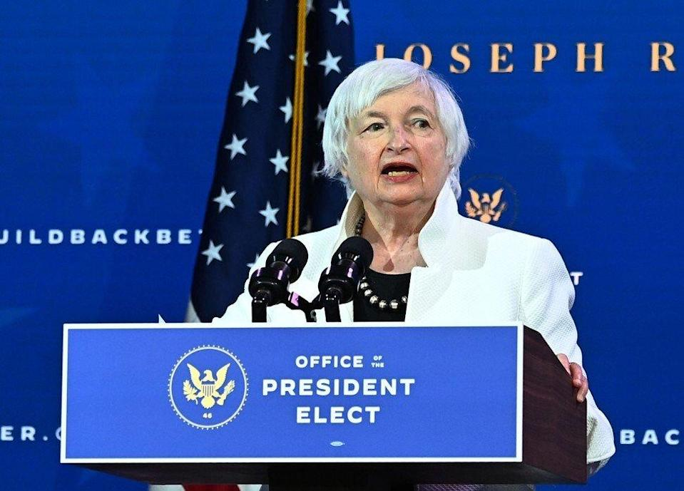 New US Treasury Secretary Janet Yellen described China as the US's 'most important strategic competitor' during her confirmation hearing. Photo: AFP