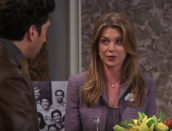 <p>Everyone knows Ellen Pompeo as Meredith Grey on <em>Grey's Anatomy</em> (even those who don't watch the show), but before that, she was in one episode of <em>Friends</em>. She played Ross and Chandler's college crush Missy Goldberg in the final season. </p>