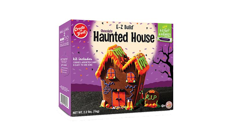 Chocolate Halloween House Kit