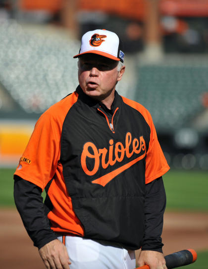 Buck Showalter has guided the Orioles to 93- and 96-win seasons over the past three years. (USA Today)