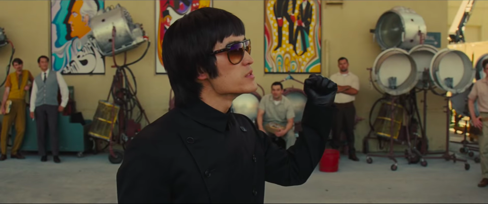Mike Moh as Bruce Lee in Once Upon A Time In Hollywood (Credit: Sony)