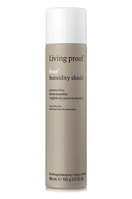 """<h3><strong>Living Proof</strong> No Frizz Humidity Shield</h3> <br>A finishing spray coupled with an anti-frizz product will really let summer know who's boss. This one in particular is packed with weightless frizz-fighting molecules, so you can seal in your look without feeling like you've shellacked your hair into a helmet.<br><br><strong>Living Proof</strong> No Frizz Humidity Shield, $, available at <a href=""""https://go.skimresources.com/?id=30283X879131&url=https%3A%2F%2Fad.doubleclick.net%2Fddm%2Fclk%2F292150109%3B119270103%3Bo%3Fhttp%3A%2F%2Fwww.sephora.com%2Fno-frizz-humidity-shield-P397028"""" rel=""""nofollow noopener"""" target=""""_blank"""" data-ylk=""""slk:Sephora"""" class=""""link rapid-noclick-resp"""">Sephora</a><br>"""