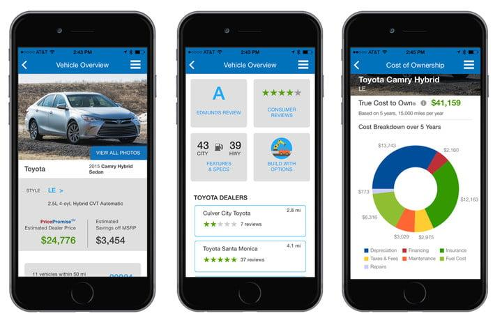 Use the best car-selling apps to buy your next ride with