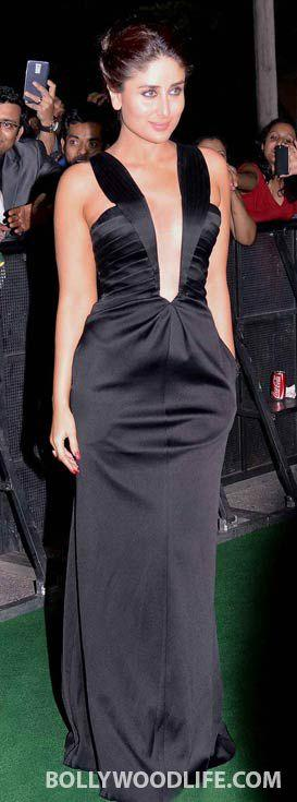 <p>For the IIFA 2014 that transpired in Tampa, Florida, Kareena Kapoor Khan made heads turn in a sultry black Giorgio Armani gown replete with deep cuts and pocket details. Keeping things minimal, Kareena steered clear of accessories and sported an elegant hairdo. </p>
