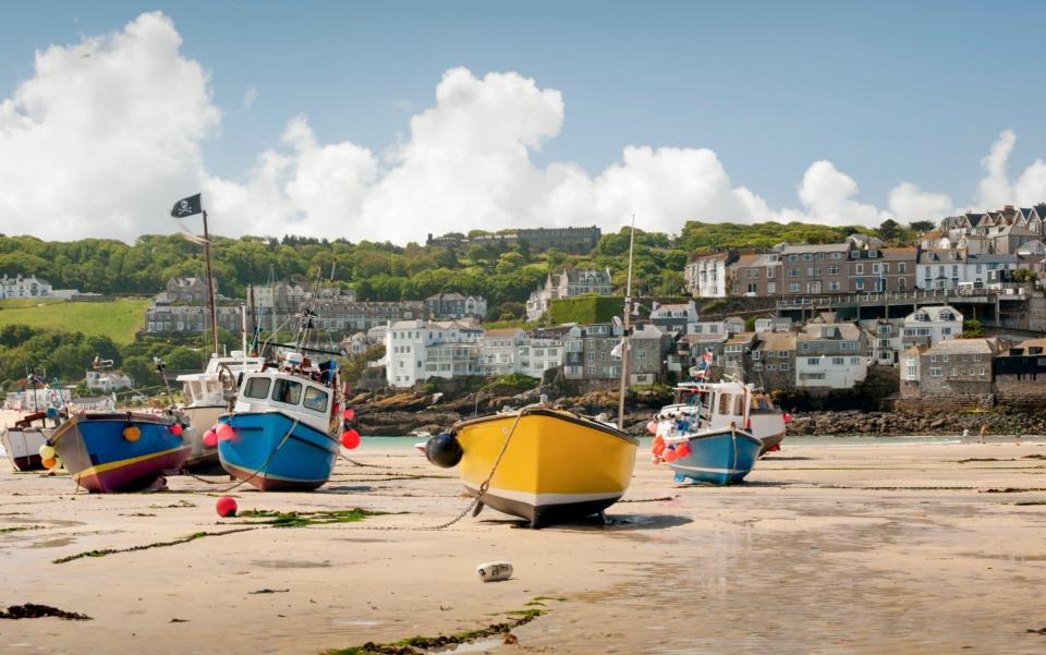 St Ives Harbour, Cornwall - Westhoff/Getty Images Contributor