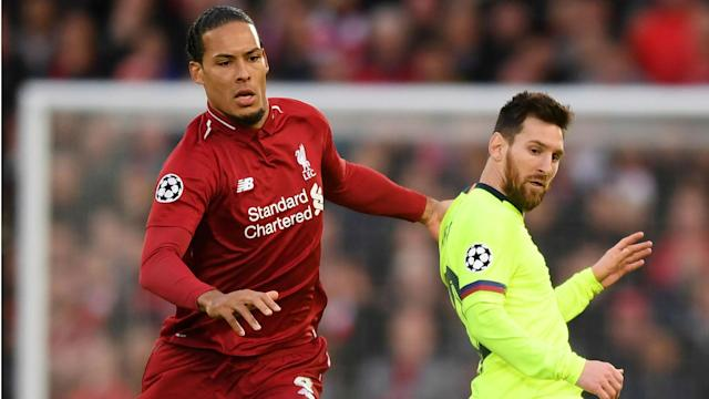 He may have finished runner up to Ballon d'Or winner Lionel Messi, but Virgil van Dijk had no qualms about losing out to the Barcelona star.