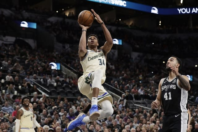 Giannis Antetokounmpo impressed again but could not prevent the Milwaukee Bucks from being beaten
