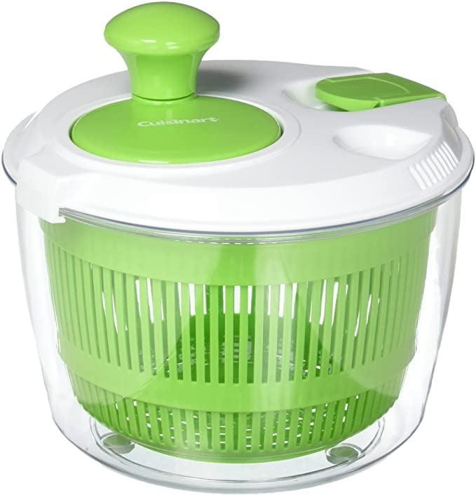 <p>Make the perfect salad or even wash your veggies thoroughly with the <span>Cuisinart Salad Spinner</span> ($15, originally $25).</p>