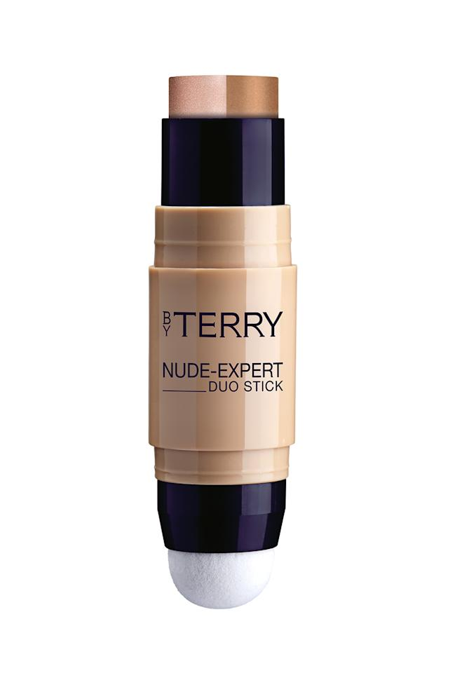<p>Practical and compact, this all-in-one foundation stick boasts a blending sponge and a two coverage levels to play with. One side has a matte foundation, which delivers seamless coverage with a blurring finish while the other side is a highlighter and ideal for enhancing specific facial features. Clever, huh? </p>