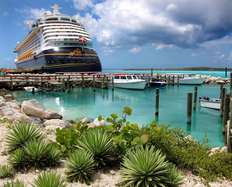 Disney Cruise Line was accused of leaving employees stranded on private island Castaway Cay in the Bahamas during Hurricane Dorian. (Photo: Getty Images)