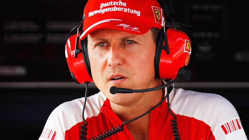 Michael Schumacher, pictured here in Italy in 2019.
