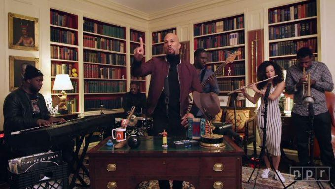 Common Debuted Three New Songs During 'Tiny Desk Concert' at The White House
