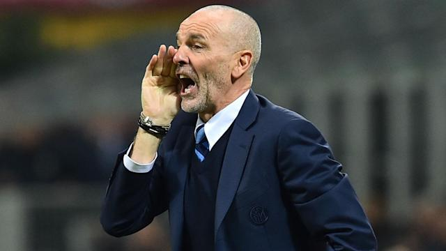The under-fire head coach seems to be safe in his job for now after the Serie A club publicly backed him to turn things around at the San Siro