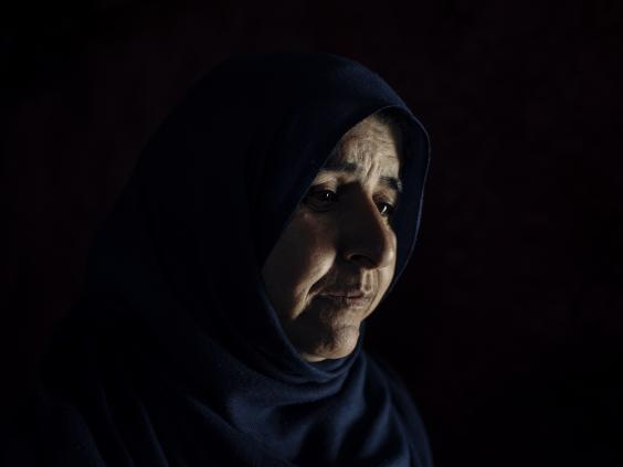 Hanan fled Syria in 2013 after air attacks shelled the rear of her house (Paddy Dowling/Qatar Charity)