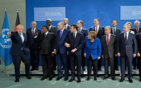 World leaders gathered in Berlin over the weekend to try to reach an agreement on Libya - Credit: Photo by Sean Gallup/Getty Images