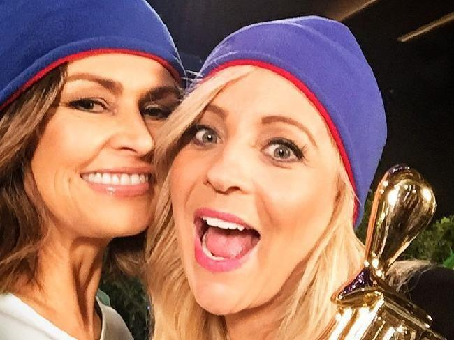 Carrie Bickmore has slammed reports that she is