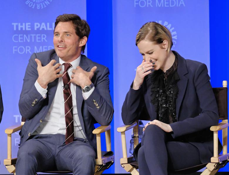 Westworld James Marsden Evan Rachel Wood PaleyFest 2017