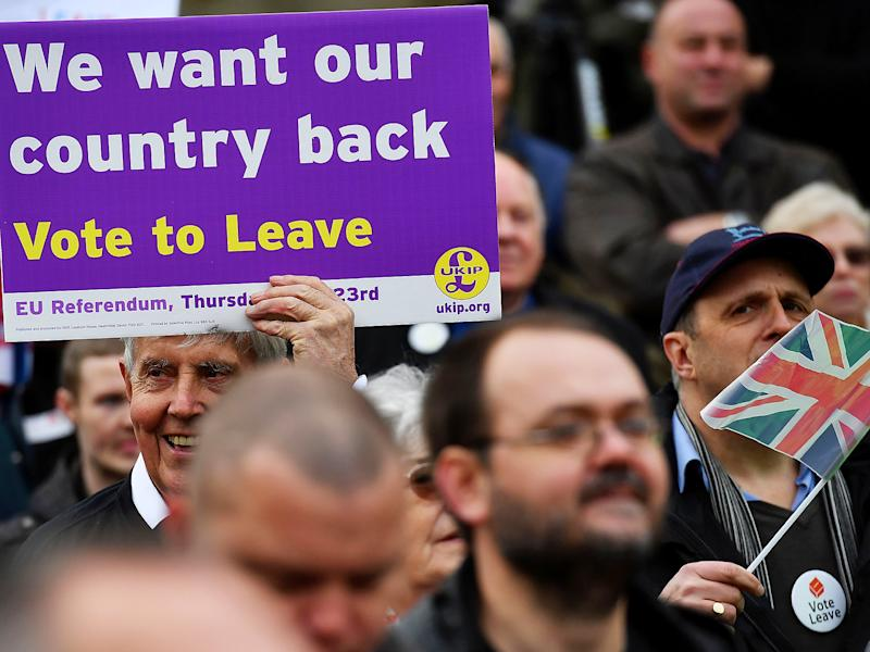 More than 10 per cent of Leave voters wanted a return to smoking in pubs and restaurants: Getty