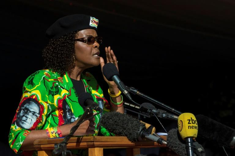 South Africa's main opposition party says Grace Mugabe is a massive flight risk and must be arrested