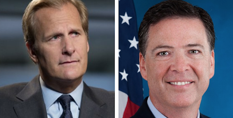 Jeff Daniels to play former FBI Director James Comey in limited TV miniseries
