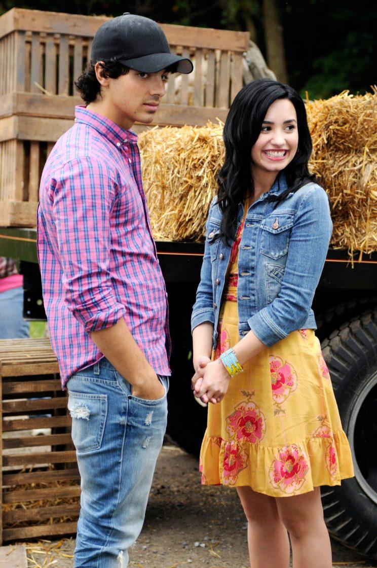 Joe Jonas And Demi Lovato In Camp Rock Two The Final Jam Which Aired Sept ThreePhoto John Medland Disney Channel Courtesy Everett Collection