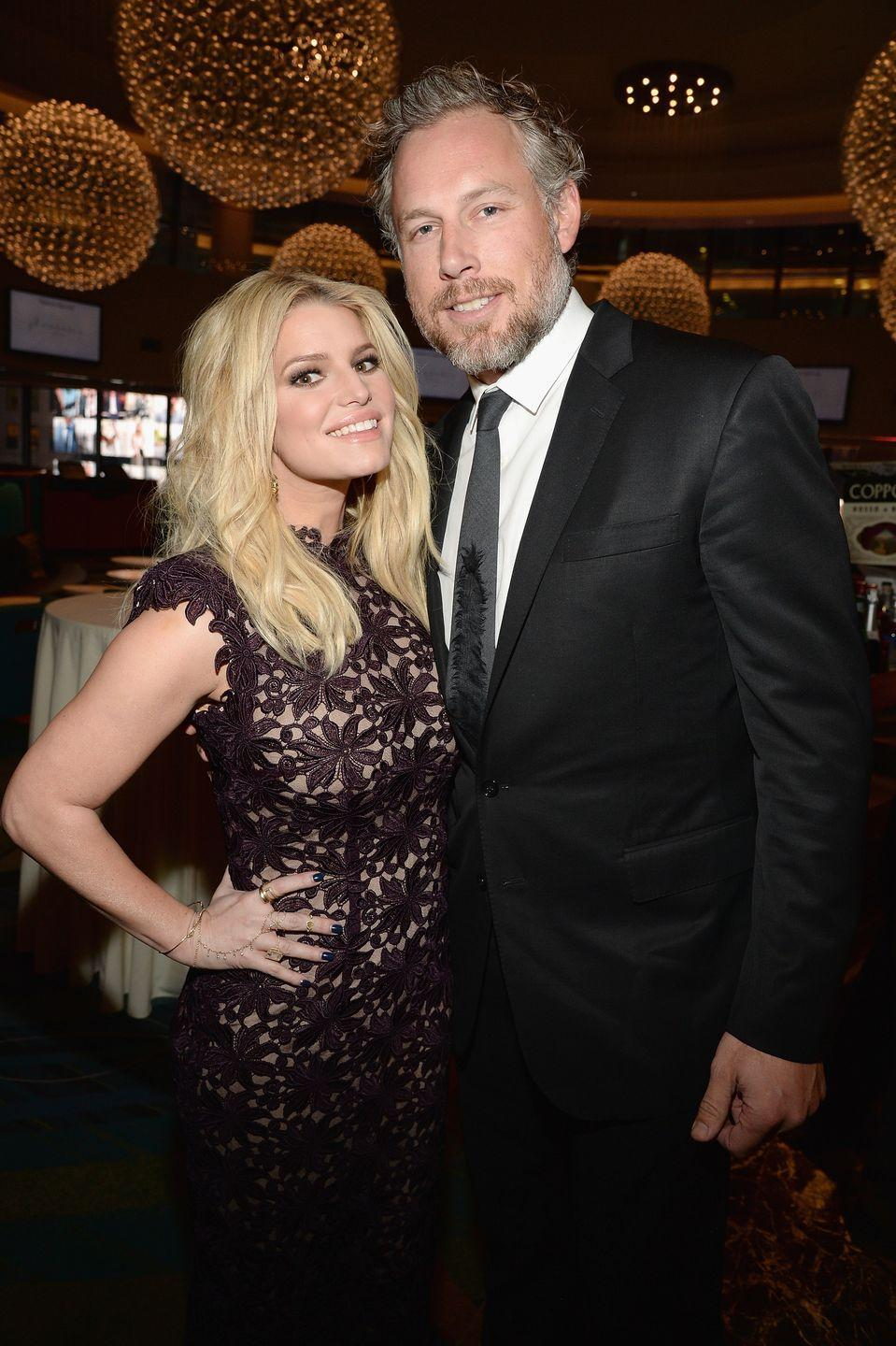 "<p>Over four lovely days, this couple and their 275 guests celebrated their <a href=""https://www.eonline.com/news/557528/inside-jessica-simpson-and-eric-johnson-s-lavish-1-4-million-wedding"" rel=""nofollow noopener"" target=""_blank"" data-ylk=""slk:life-long commitment"" class=""link rapid-noclick-resp"">life-long commitment</a> to each other with a $1.4 million extravaganza. The most expensive item? Dressing all their bridesmaids and groomsmen, which reportedly cost $750,000! </p>"