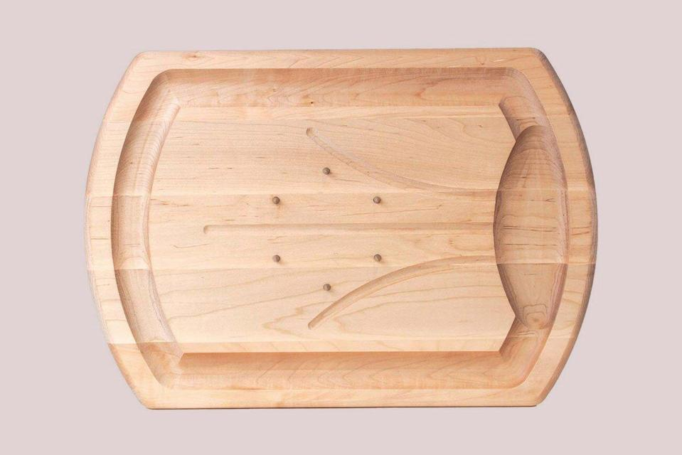J.K. Adams Traditional Carving Board with Spikes