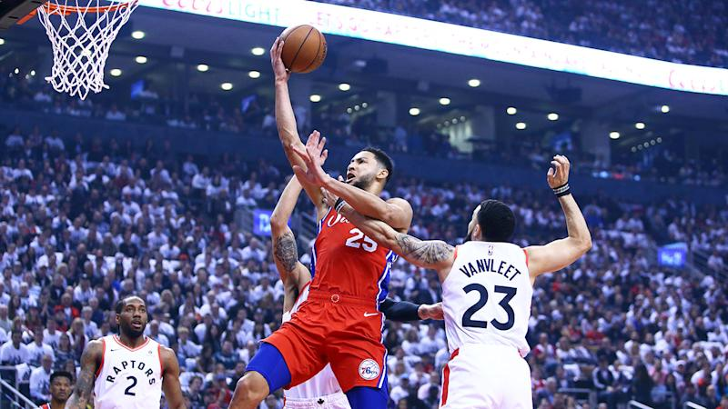 The 76ers have decided to put Ben Simmons on a max contract. Pic: Getty