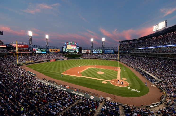 Goodbye, U.S. Cellular Field. Say hello to Guaranteed Rate Field. (Getty Images/Ron Vesely)
