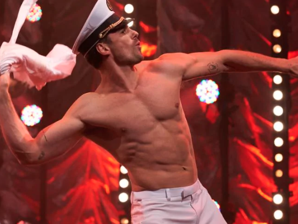 Matty J was just one famous bod to show off on screen. Photo: Supplied