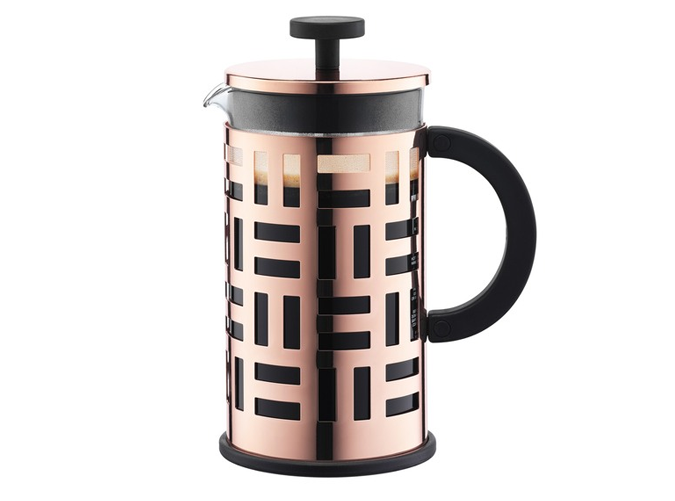 """<p>There are those who love coffee, and then there are those who grind their own fair trade beans before brewing in a ceramic coffee press. This chick is the latter.</p> <p><em><a href=""""https://www.bodum.com/us/en/11195-18-eileen"""" target=""""_blank"""">Bodum French press</a>($50)</em></p>"""