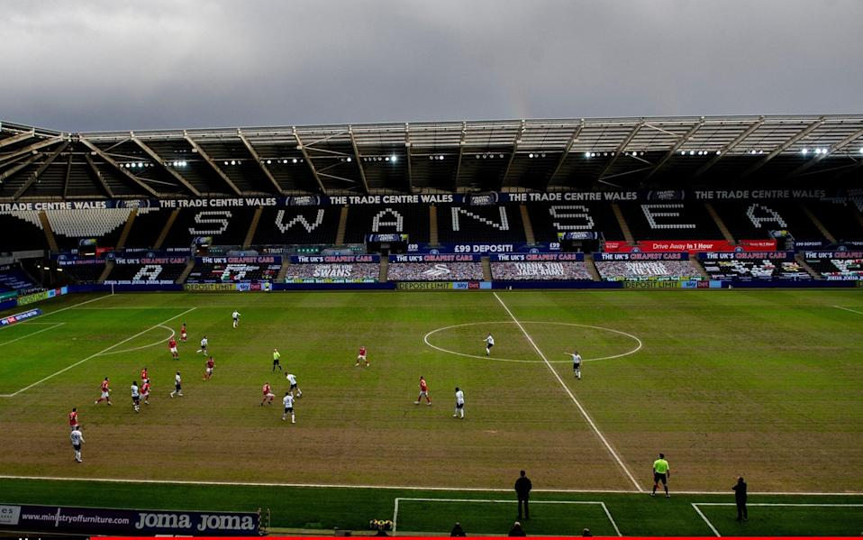 A general view during the Sky Bet Championship match between Swansea City and Barnsley - Getty Images