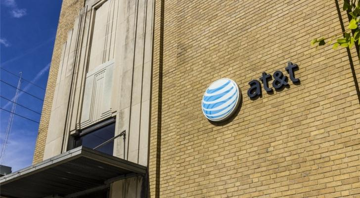 at&t stock t stock
