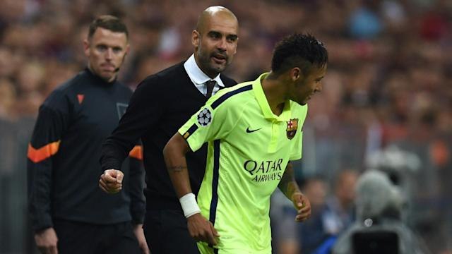 Neymar has revealed that playing under Pep Guardiola and experiencing football in the United States are aspirations for his future career.