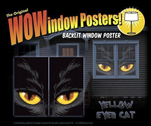 """<p><strong>WOWindow Posters</strong></p><p>amazon.com</p><p><strong>$25.00</strong></p><p><a href=""""http://www.amazon.com/dp/B00YZCS0SI/?tag=syn-yahoo-20&ascsubtag=%5Bartid%7C10050.g.22251974%5Bsrc%7Cyahoo-us"""" rel=""""nofollow noopener"""" target=""""_blank"""" data-ylk=""""slk:Shop Now"""" class=""""link rapid-noclick-resp"""">Shop Now</a></p><p>Why have just one giant window decoration when you can have <em>two</em> giant window decorations? These posters can be placed on separate windows for double trouble.</p>"""
