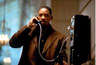 """<p>Will Smith brings the action with this political thriller. Picture this: You're a lawyer who accidentally obtains a tape of a murder and ends up being chased by secret agents. Yeah, that's exactly what Smith's character, Robert Clayton Dean, has to deal with this film. Not exactly the best situation to find yourself in….</p> <p><a href=""""https://www.amazon.com/Enemy-State-Will-Smith/dp/B00KCGR9OM/ref=sr_1_1?crid=1T8DAK9C8K78A&dchild=1&keywords=enemy+of+the+state&qid=1595445153&s=instant-video&sprefix=enemy+of+%2Cinstant-video%2C146&sr=1-1"""" rel=""""nofollow noopener"""" target=""""_blank"""" data-ylk=""""slk:Available to rent on Amazon Prime Video"""" class=""""link rapid-noclick-resp""""><em>Available to rent on Amazon Prime Video</em></a></p>"""