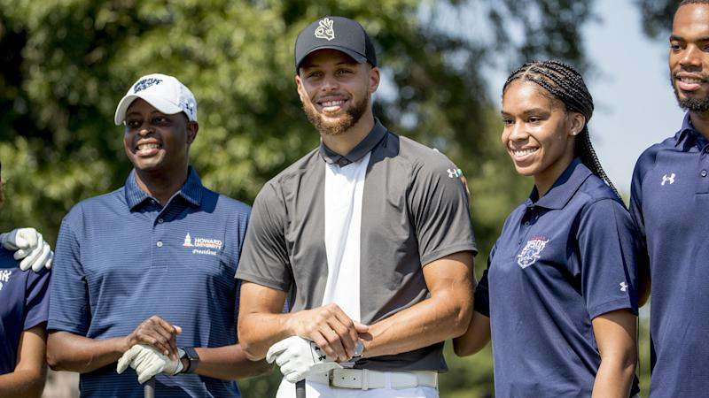 Steph Curry hopes to change face of golf after revolutionizing basketball