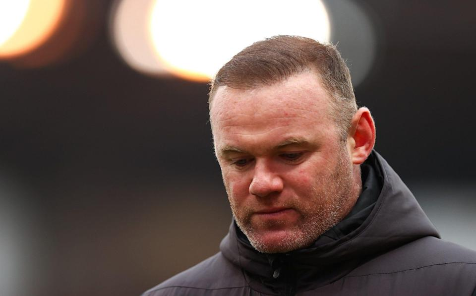 Rooney's Derby stayed up in dramatic fashion on the last day of the Championship season - GETTY IMAGES