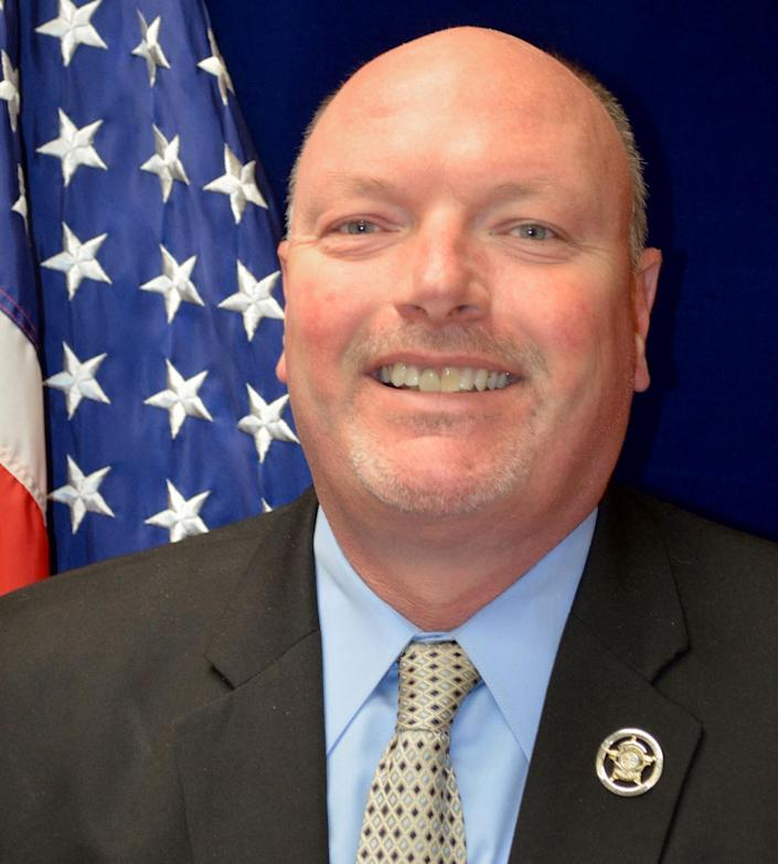 York County, S.C., Sheriff Kevin R. Tolson. (York County Sheriff's Office)