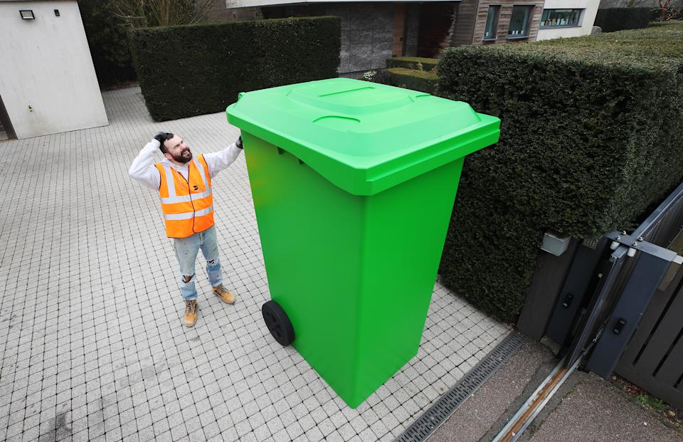 Leading packaging specialist DS Smith has created a larger-than-life recycling bin which demonstrates the scale of changes needed to the UK's recycling infrastructure.