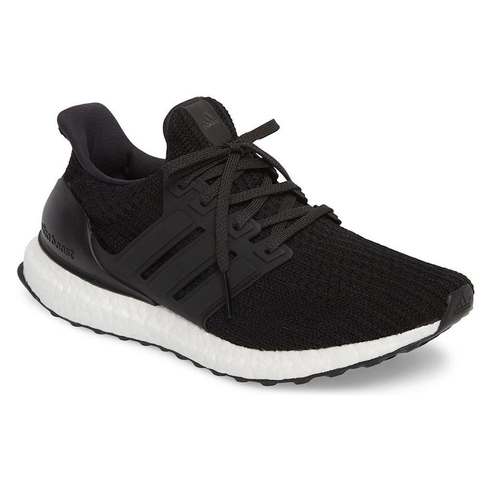 """<p><strong>ADIDAS</strong></p><p>nordstrom.com</p><p><strong>$119.90</strong></p><p><a href=""""https://go.redirectingat.com?id=74968X1596630&url=https%3A%2F%2Fwww.nordstrom.com%2Fs%2Fadidas-ultraboost-running-shoe-men%2F3845657&sref=https%3A%2F%2Fwww.menshealth.com%2Fstyle%2Fg33510339%2Fnordstrom-anniversary-sale-2020%2F"""" rel=""""nofollow noopener"""" target=""""_blank"""" data-ylk=""""slk:Shop Now"""" class=""""link rapid-noclick-resp"""">Shop Now</a></p><p><del><strong>$180</strong></del><strong> $119.90 (30% off)</strong></p><p>Adidas' popular kicks will add a pep to your step—literally. This pair features the brand's signature, energy-responsive Boost technology that will give you some extra power as you pound the pavement. </p>"""