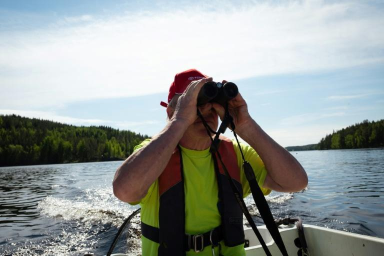 Retiree Risto Eronen has since childhood closely watched the seals, which are found only in the lake's fresh waters