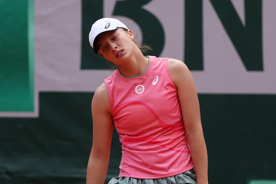 Iga Swiatek's 11-match French Open winning streak is at an end (Getty Images)